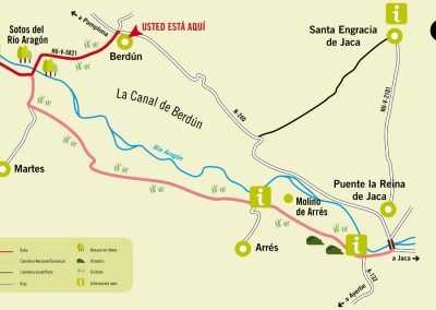 Ruta 10: Berdún - Sotos del río Aragón