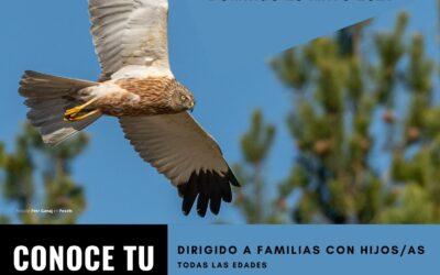Excursión en familia. Recorrido Ornitológico por Sigüés