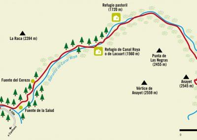 Ruta 8b: Somport - Canal Roya y Anayet
