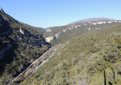 Ruta 14: Cañón del Río Esca Salvatierra - Sigüés